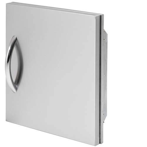 Cal Flame 089245002536 18 Inch Outdoor Single Access Door, Stainless Steel