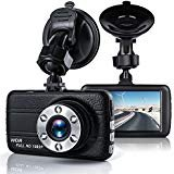 "Dash Cam,Bekhic M200 Dash Camera for Cars with 3.0"" TFT Display, Full HD 1080P, 170 Degree Super Wide Angle Cameras, Built-in Night Vision, WDR, Loop Recording,G-Sensor"