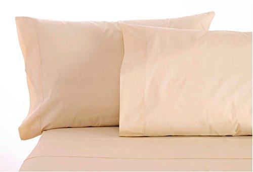 Sleep & Beyond 4-Piece My Sheet Set with 18-Inch Deep Pocket, Queen, Natural