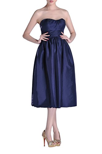 Dress Length Taffeta A Bridesmaid Tea Watermelon line Strapless qHaftY