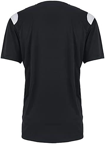 TanBridge Men's Athletic T-Shirts Performance Short Sleeve UV Sun Protection Sport Training Tee