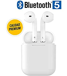 Auriculares INALAMBRICOS Bluetooth 5.0 Alta Gama, Mayor AUTONOMÍA, SIN…