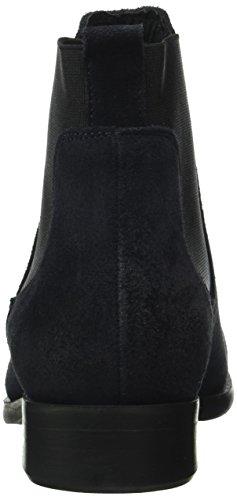 Pieces Women's Psizi Suede Blazer Chelsea Boots, Navy Blue (Navy Blazer)