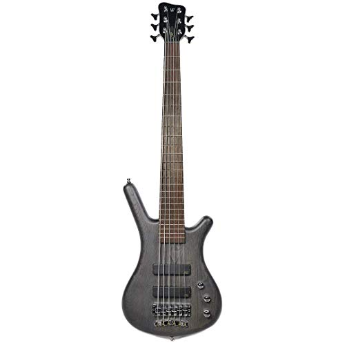 Warwick German Pro Series Corvette Ash, 6-String, Nirvana Black OFC