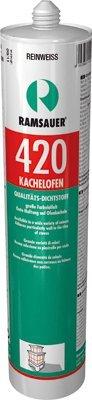 Ramsauer 420 Kachelofen reinweiß 1K Acryl Dichtstoff 310ml Kartusche