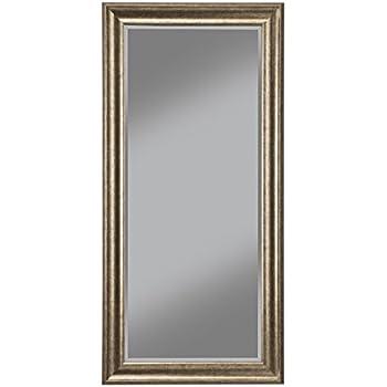 mirror frame. Sandberg Furniture 14111 Full Length Leaner Mirror Frame, Antique Gold Frame