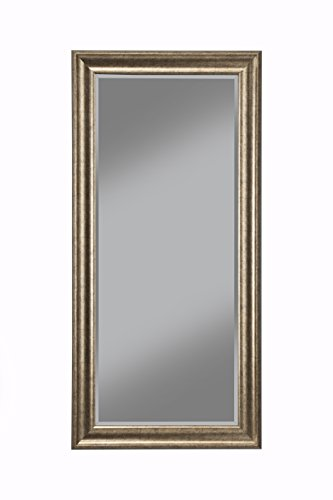 Sandberg Furniture Antique Gold Full Length Leaner Mirror