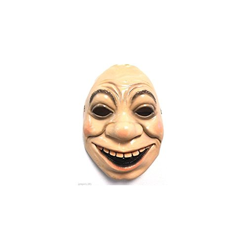 Quality Brand Creepy Smiling Grin Drunk Man Halloween Mask -