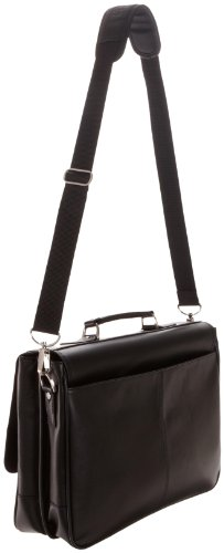 Kenneth Cole Reaction 524975 Luggage A Brief History Portfolio, Black, One Size by Kenneth Cole REACTION (Image #2)