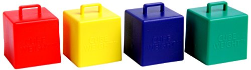 Cube Weight 65 g Balloon Weight Primary Asst (10 Piece)