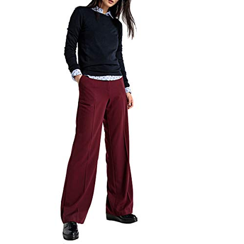 La Larghi Pantaloni Redoute Collections Bordò Donna Aqw1APR
