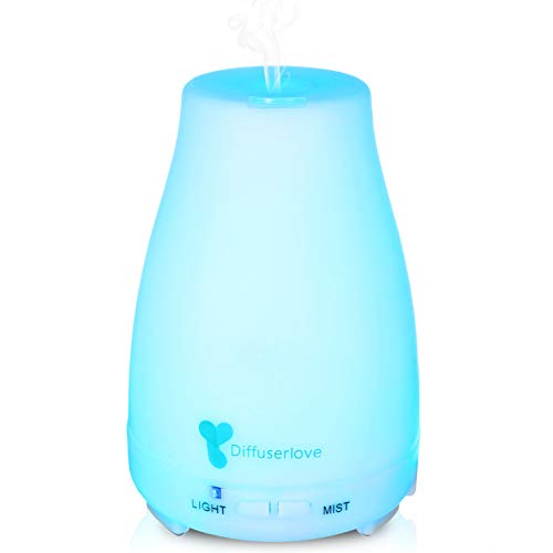Diffuserlove Essential Ultrasonic Aromatherapy Humidifiers