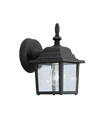 Budget Cast Aluminum Uplight Wall Lantern Finish: Black (Budget Cast Aluminum Outdoor Lighting)