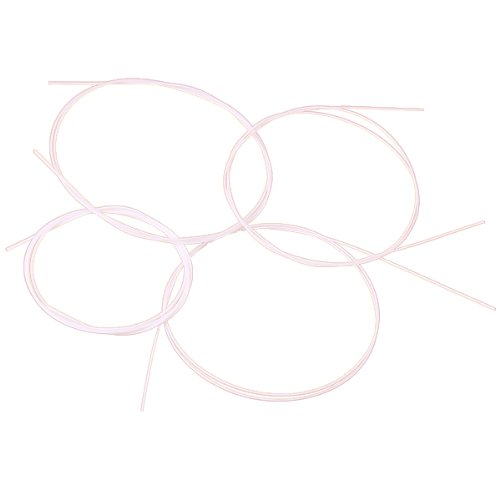 4pcs White Nylon Ukulele String Set Generic
