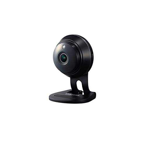 Samsung SNH-V6414BN SmartCam Full HD Plus 1080p WiFi IP Camera, Black (Renewed) (Samsung Ip Cam)