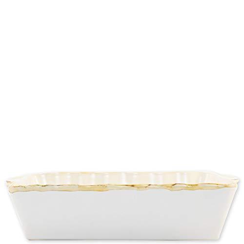(Vietri Italian Bakers White Large Rectangular Baker)