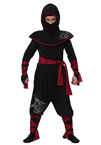 Deadly Ninja Costume For Boys