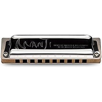 Suzuki M20 Manji 10-Hole Harmonica
