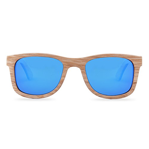 sol marrón para marrón M Woodiful Gafas hombre de ZnqYtEP8