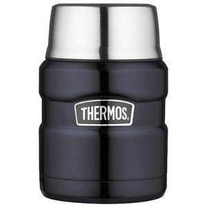 Thermos 16 Oz King Food Jar with Folding Spoon (Colors Will Vary)
