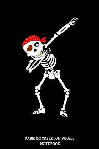 Dabbing Skeleton Pirate Notebook: P]()
