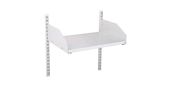 JOHN STERLING 0133-23WT 23 IN x 16IN Dual-Trak Shelf Kit