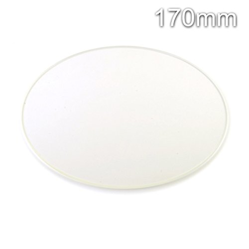 RepRap Champion Round Borosilicate Glass Plate for 3D Printer 170mm Diam Kossel Mini RepRap