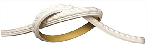 Millwork by WI 1 Inch Ribbon Rope Flexible Panel Molding 93