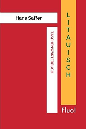 Taschenwörterbuch Litauisch