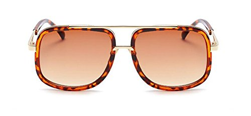B style retro Lennon polarisées du cercle Gradient de soleil lunettes rond vintage en Thé inspirées métallique qX8wEZ