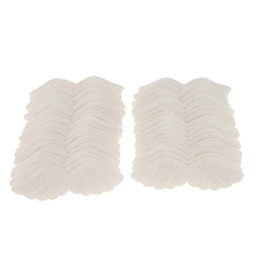 50pcs Lovely Angel's Wing Craft Baby Girl Shower Applique Fabric Trim Decorations