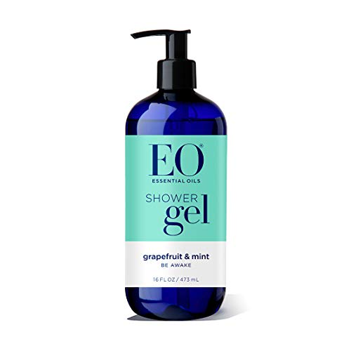 EO Shower Gel, Grapefruit and Mint, 16 Ounce Bottles (Pack of 2)