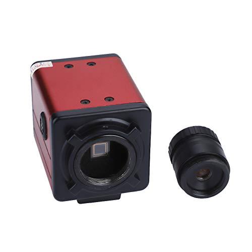High Resolution US Plug 100-240V CCD Industry Camera Shock Absorption for Industrial Testin Machine Vision Digital Eyepiece Microscope