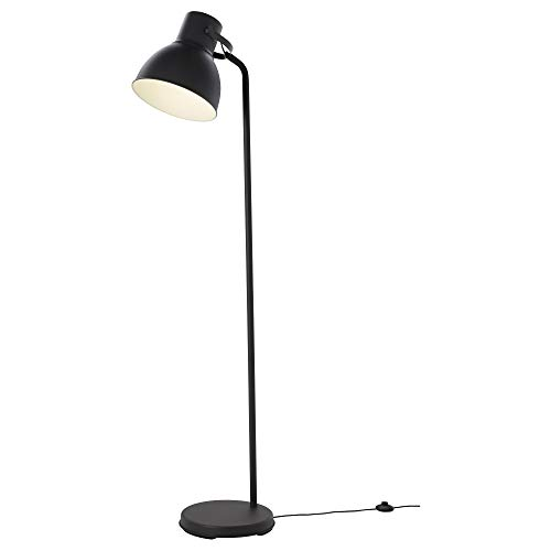 IKEA 404.162.81 Hektar Floor Lamp with Led Bulb, Dark Gray