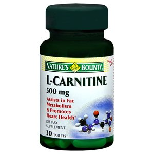NATURES BOUNTY L-CARNITINE 500MG 1683 30TB by NATURE'S BOUNTY ***