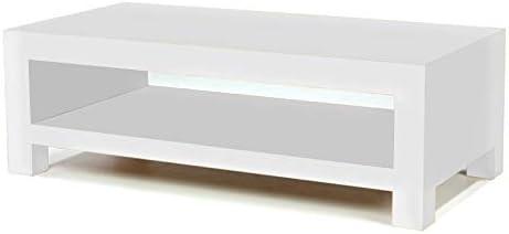 Asia Dragon Mesa de Centro con Forma de Cubo Blanco: Amazon.es: Hogar
