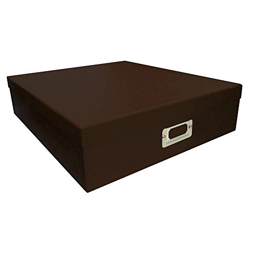 Box Storage Photo Albums Scrapbooking Supplies Set of 6 Brown by Pioneer Photo Albums