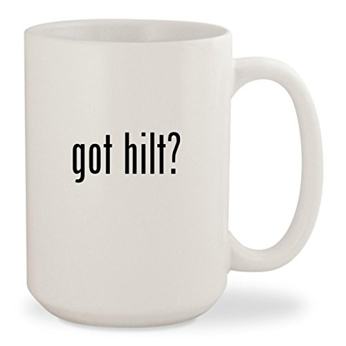 Cup Hilt Rapier (got hilt? - White 15oz Ceramic Coffee Mug Cup)
