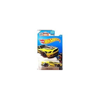Hot Wheels, 2016 HW Mild to Wild, '13 Ford Mustang GT [Yellow] 65/250: Toys & Games