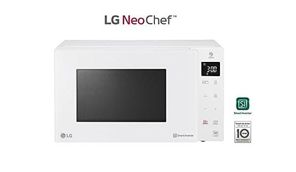 LG mh7235gph Horno Microondas Inverter con grill Capacidad 32 ...
