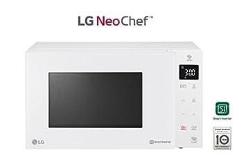 LG mh7235gph Horno Microondas Inverter con grill Capacidad 32 litros Potencia 1350 W Color blanco