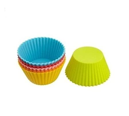 Prostuff Round Shape 6   Cup Cupcake/Muffin Mould