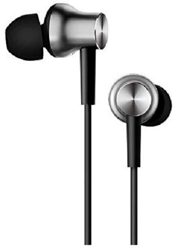 Mi Earphones with Dynamic bass, Music Control and mic (Silver) Image