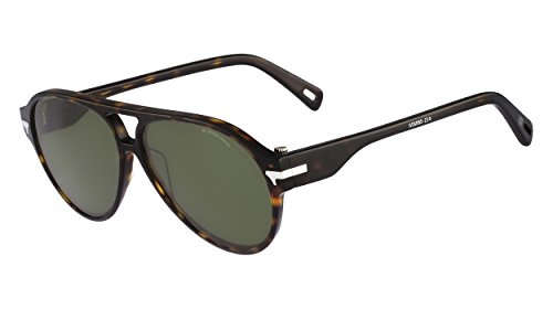 G-Star Raw GS608S Aviator Sunglasses, Havana, 57 - Star G Raw Sunglasses