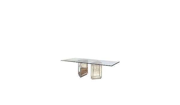 Amazon Com Bassett Mirror Murano Double Pedestal Household 96lx44wx30h Antique Mirror Tables