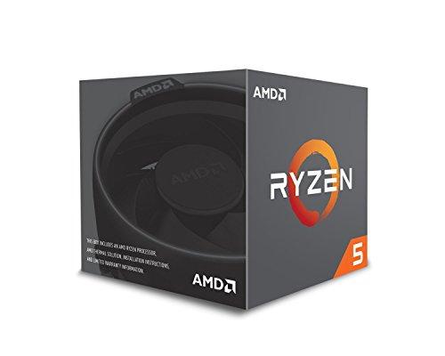 AMD Ryzen 5 2600X processor (basistakt: 3.6Hz, 6 kernen, Socket AM4) YD260XBCAFBOX