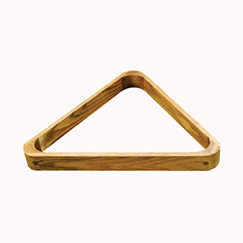 Brown Wooden Triangle for 15x 2 1/16' Balls