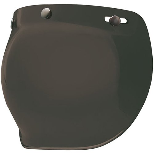 Bell Bubble Shield Harley Cruiser Motorcycle Helmet Accessories - Dark Smoke - for Custom 500/R/T/Shorty