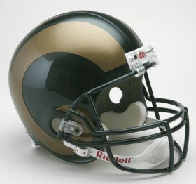 NCAA Colorado State Rams Helmet Full Size Replica, One Size, Team Color Colorado State Rams Helmet