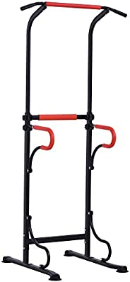 Soozier Pull Up Bar Power Tower Station for Home Office Gym Traning Workout Equipment